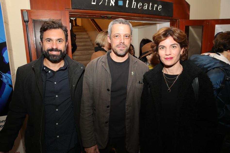 תמר זנדברג, אבשלום פולק ואורי זכי (צילום: איציק בירן)