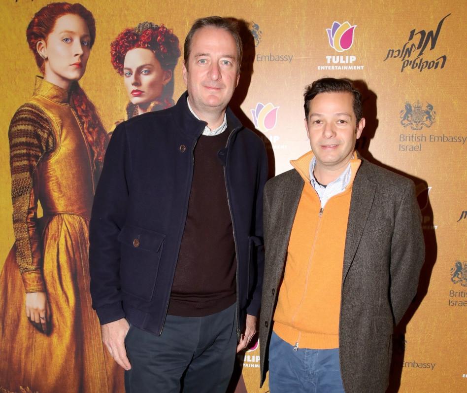 אלדו הנריקז ודיוויד קוורי (צילום איציק בירן)