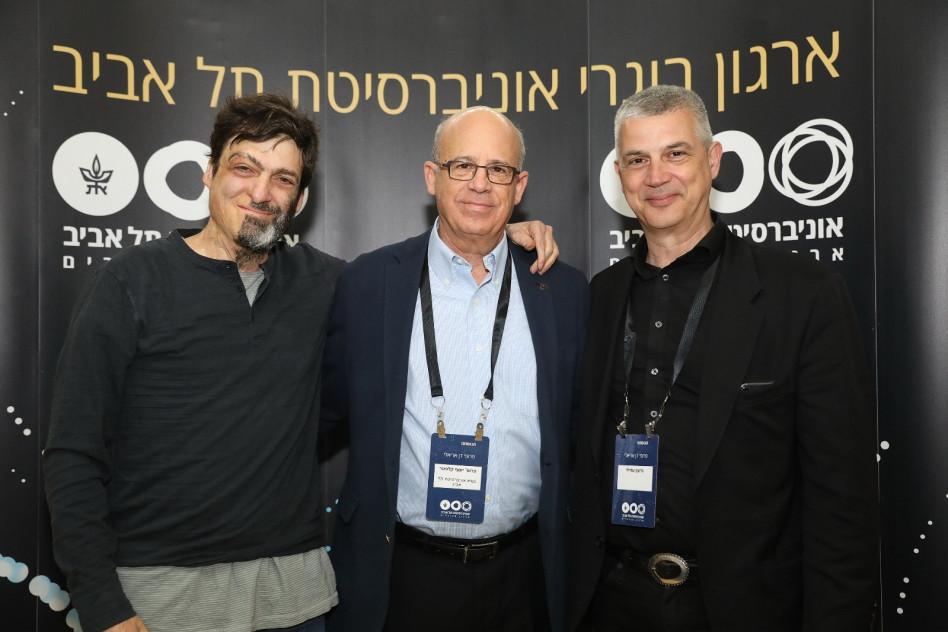גדעון עמיחי, יוסף קלפטר ודן אריאלי (צילום: ניב קנטור)
