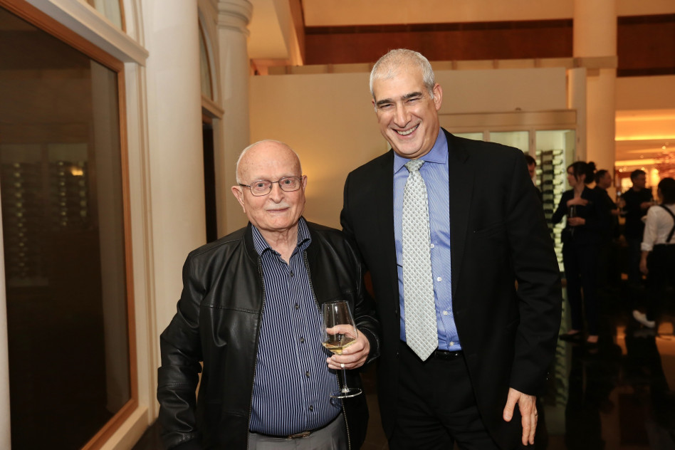 דיויד כהן ודויד עברי (צילום: פביאן קלדרוף)