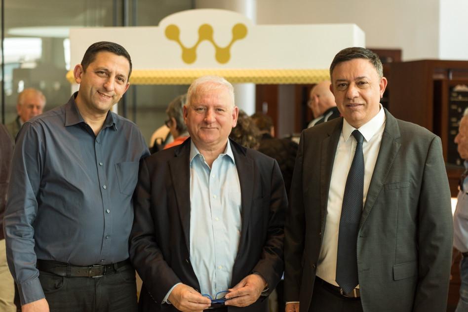אבי גבאי, יאיר סרוסי ודורון ארנון (צילום: אודי גורן)