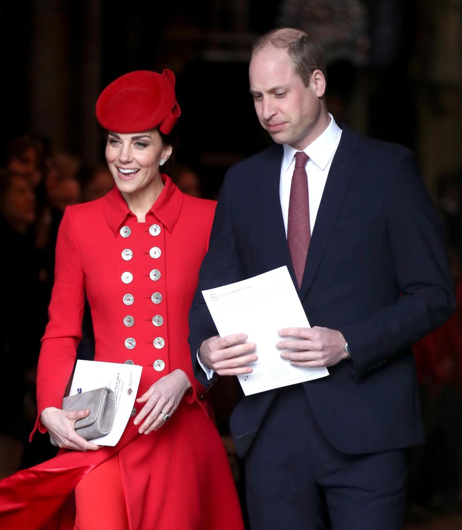 הנסיך וויליאם וקייט מידלטון (צילום: Getty images)