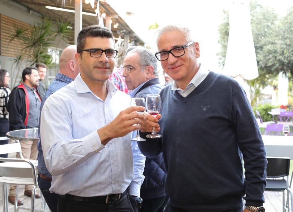אמיר חייק ורובי גינל (צילום: יוסי בן דוד)