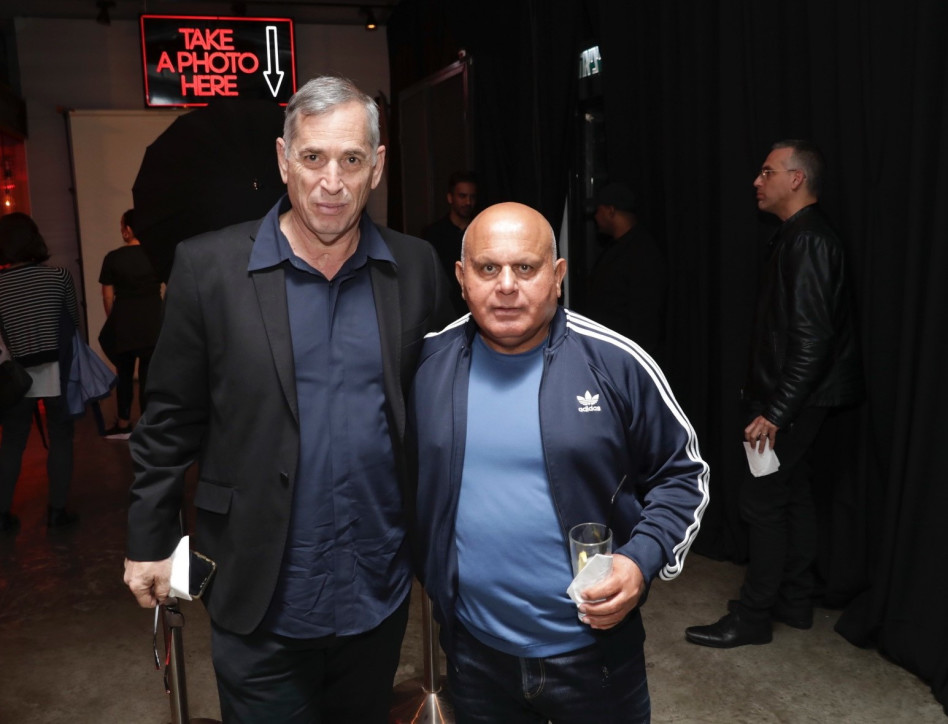 גדעון מוליוב ואבי זמיר