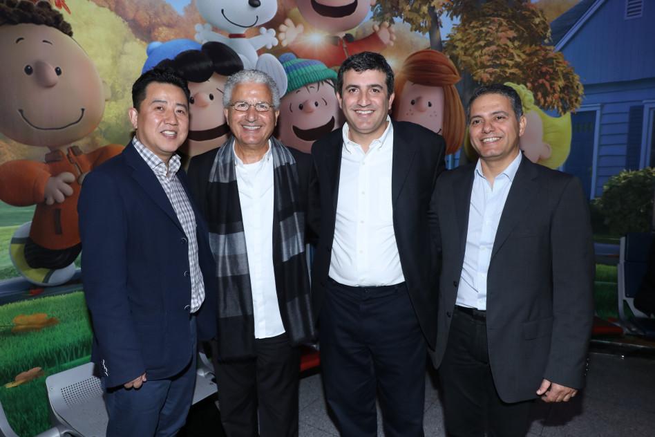 קובי בש, אבי אדרי, משה אדרי וג'סטין ג'ו (צילום: רפי דלויה)