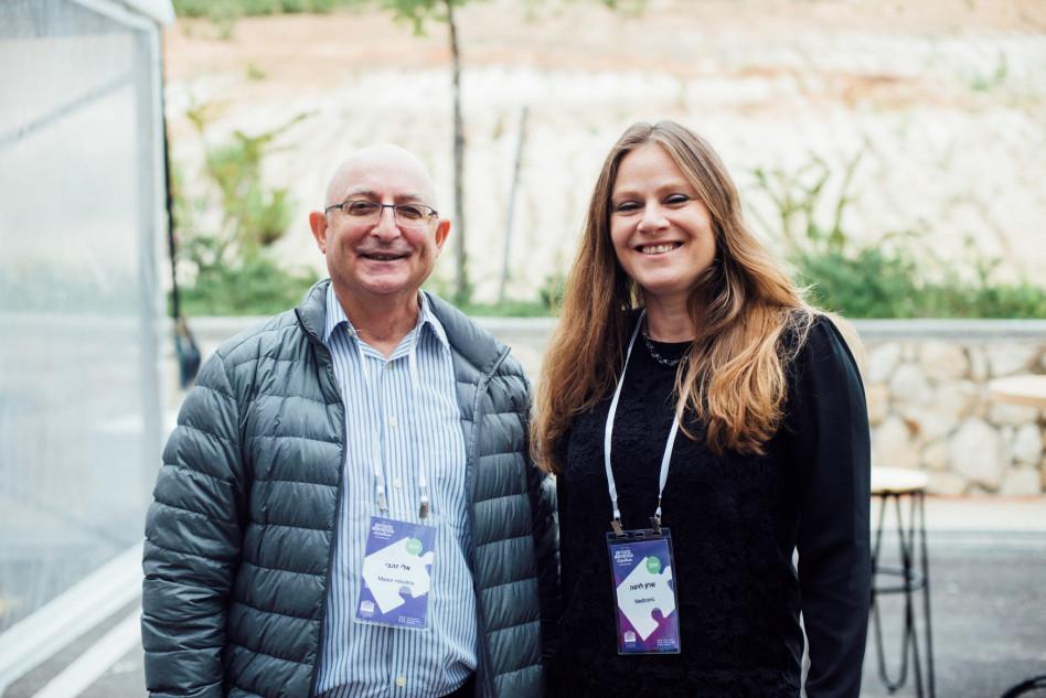 שרון לויטה ואלי זהבי (צילום: יוליה ברזינה)