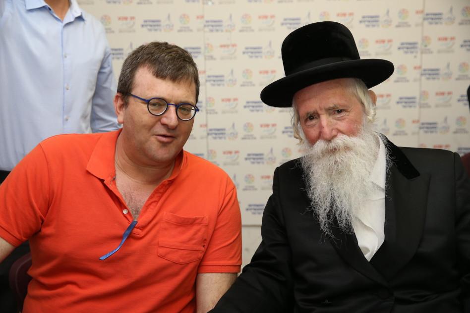 הרב דוד גרוסמן וערן רולס