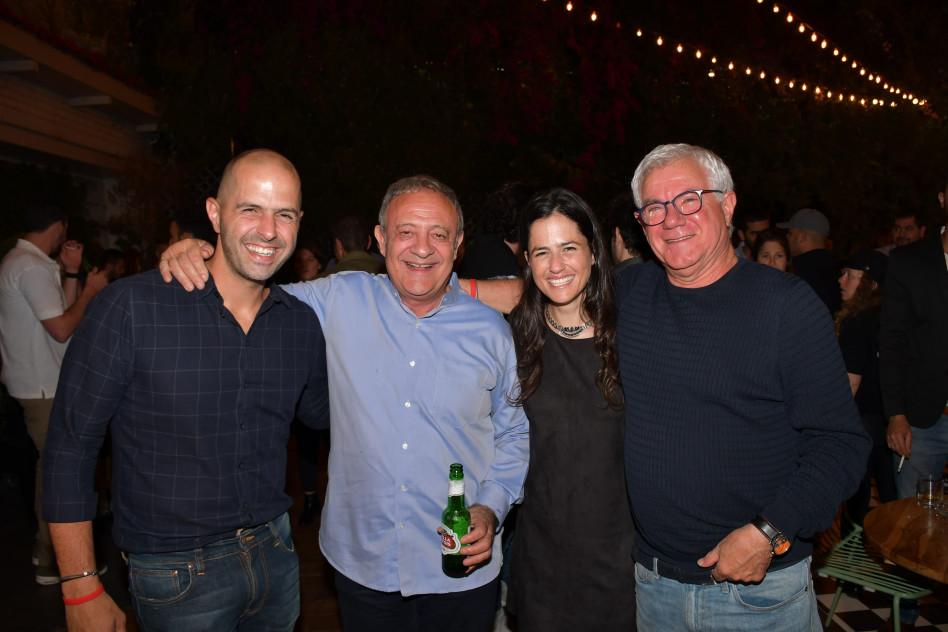 רוני פוקס, רונה אנג'ל, ראובן אבלגון ואורי אנג'ל