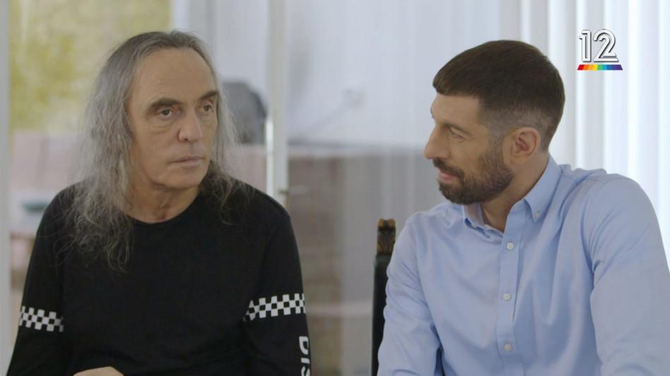 בראיון עם חיים אתגר (צילום מסך)