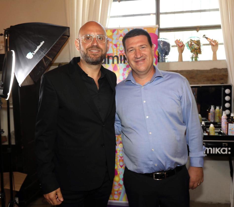 אורי וטרמן ודוד קדוש (צילום: סיון פרג')