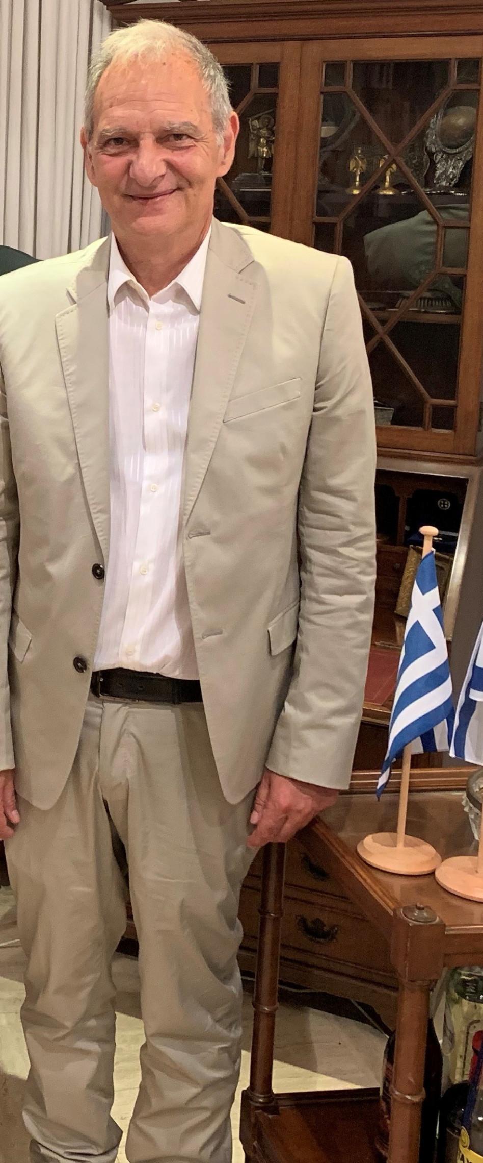 אליאס אליאדס (צילום: איציק קמיליאן)