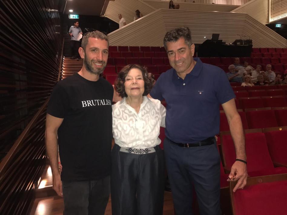 שמעון קיפניס, לילי אלשטיין ושלומי שבן