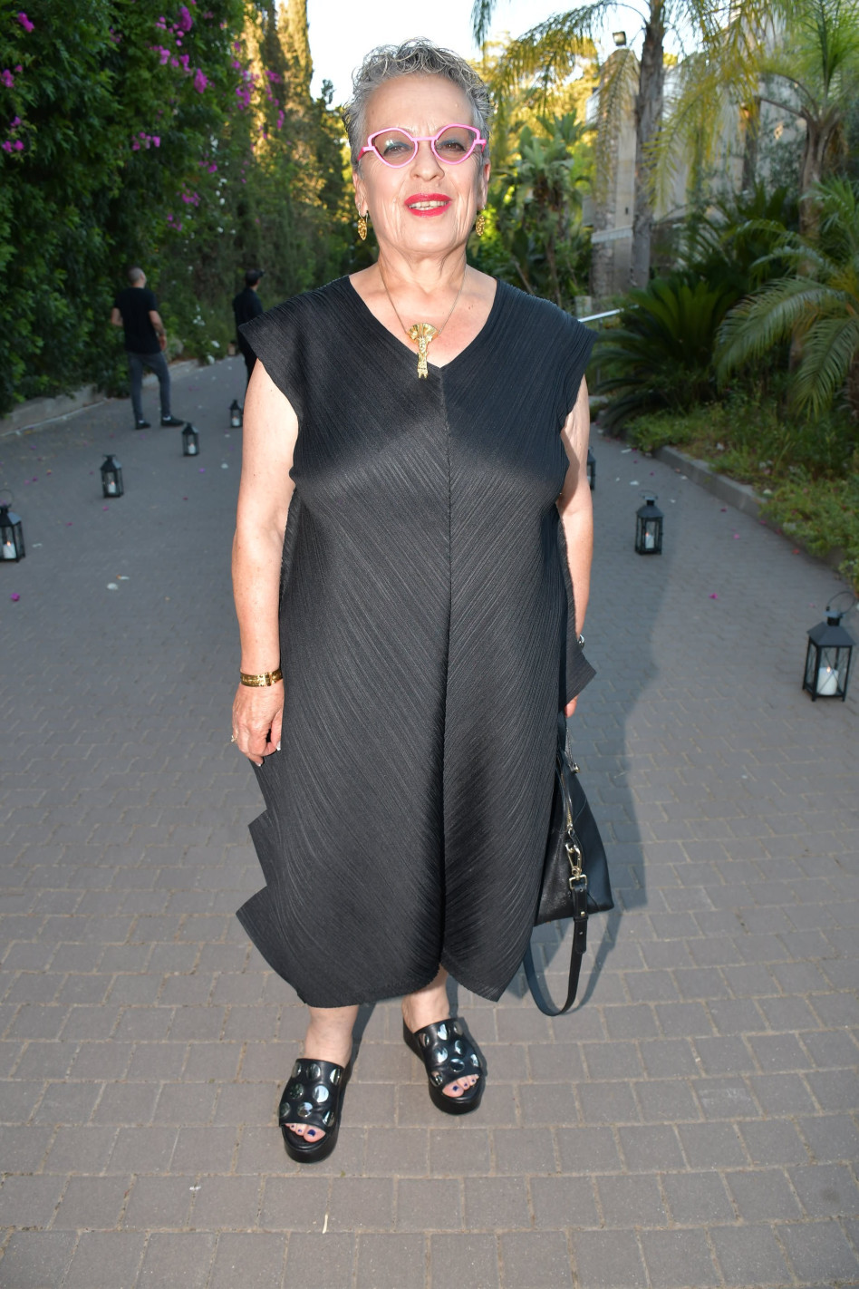 חנה פרי-זן (צילום: אביב חופי)