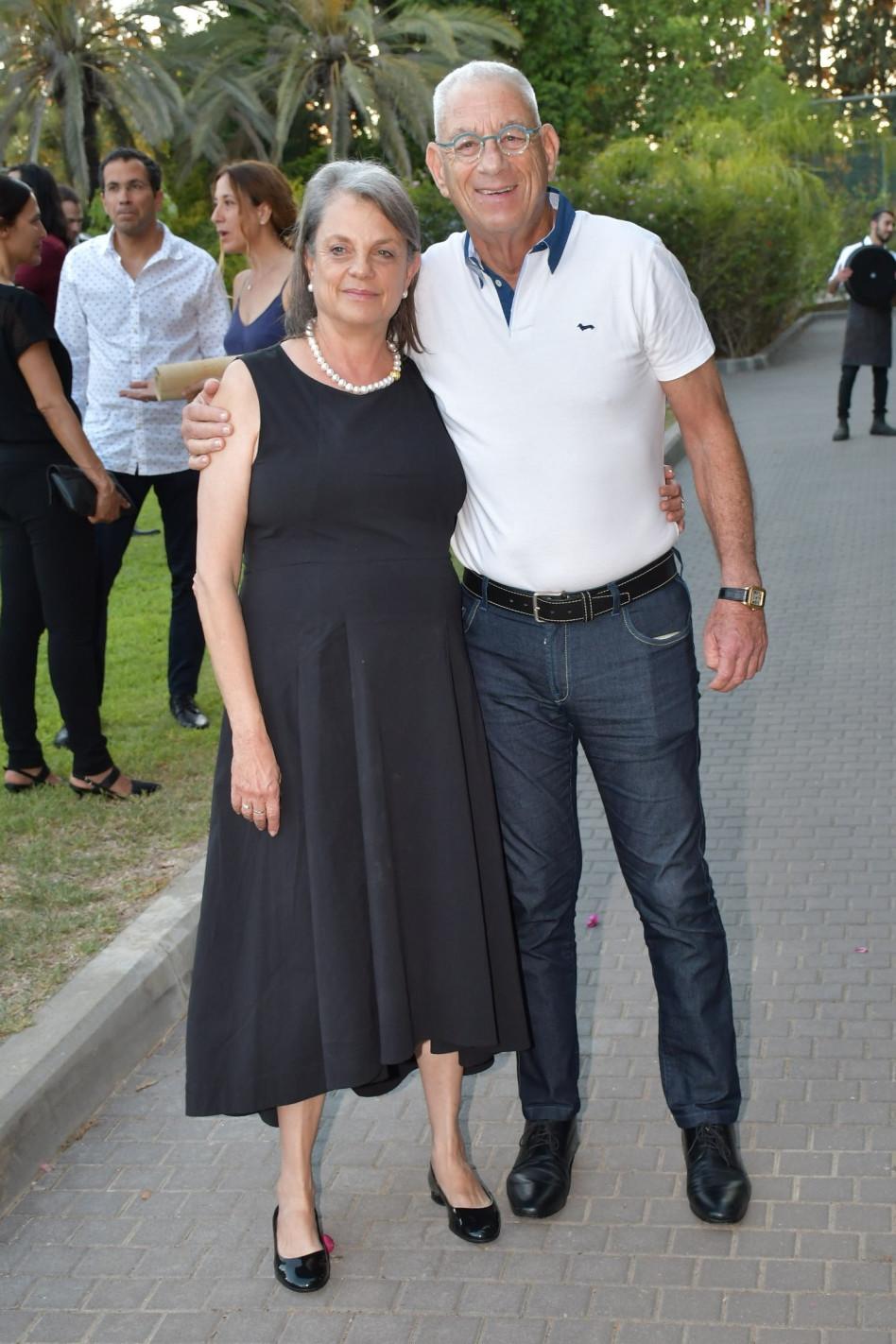 נחום פיינברג ויולי תמיר