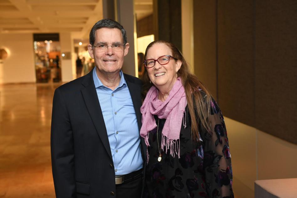 אהובה ושלמה ינאי (צילום: אוהד הרכס ואיתי בלסון, מכון ויצמן למדע )