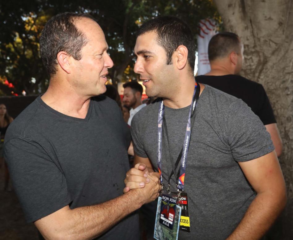 שי מור יוסף וניר ברקת (צילום: סיון פרג')