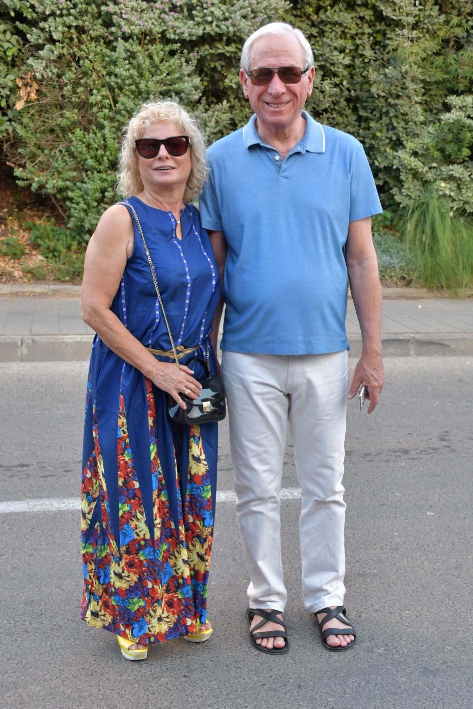 זוהר זיסאפל וחלי בן-נון (צילום: אביב חופי)