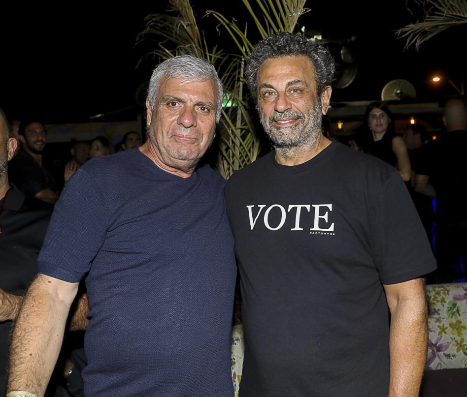 רוני אירני ואבי לוי (צילום: רפי דלויה)