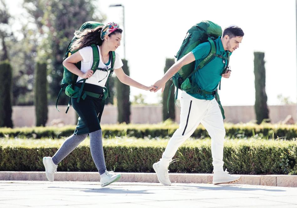 קארין ואריאל, המירוץ למיליון (צילום: מיכה לובטון)