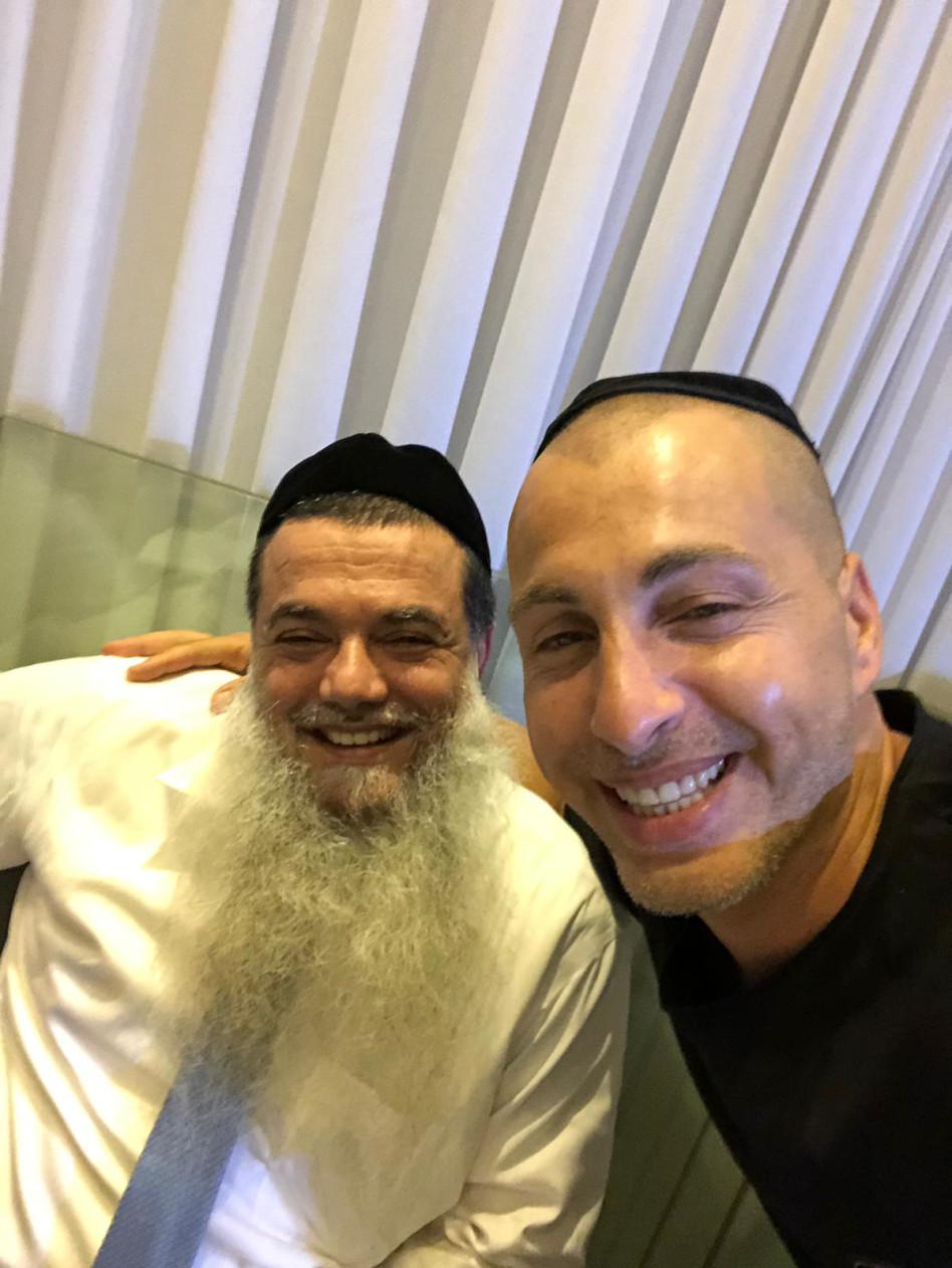 עדי לאון והרב יגאל
