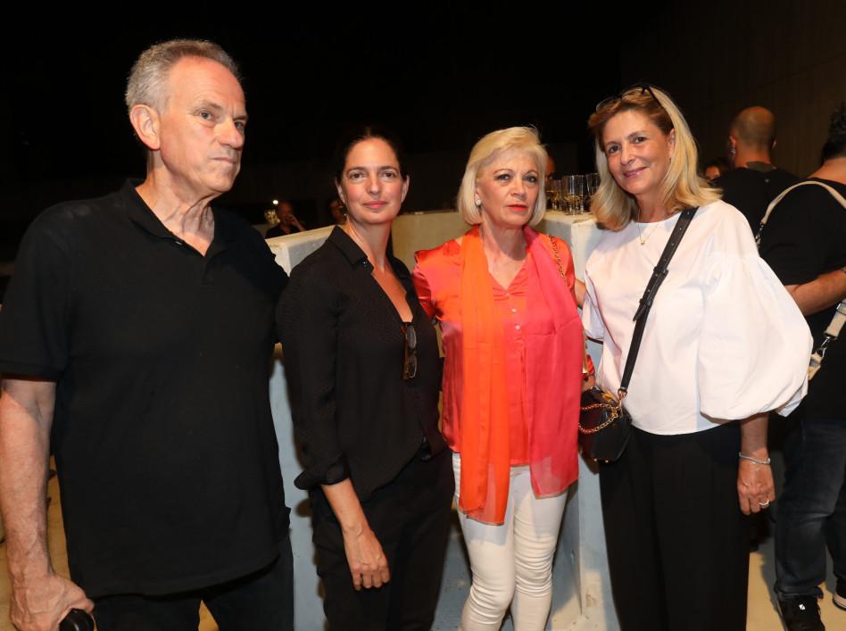 אתי רוטר, פנינה אדרי, איריס ואבי נשר (צילום: רפי דלויה)