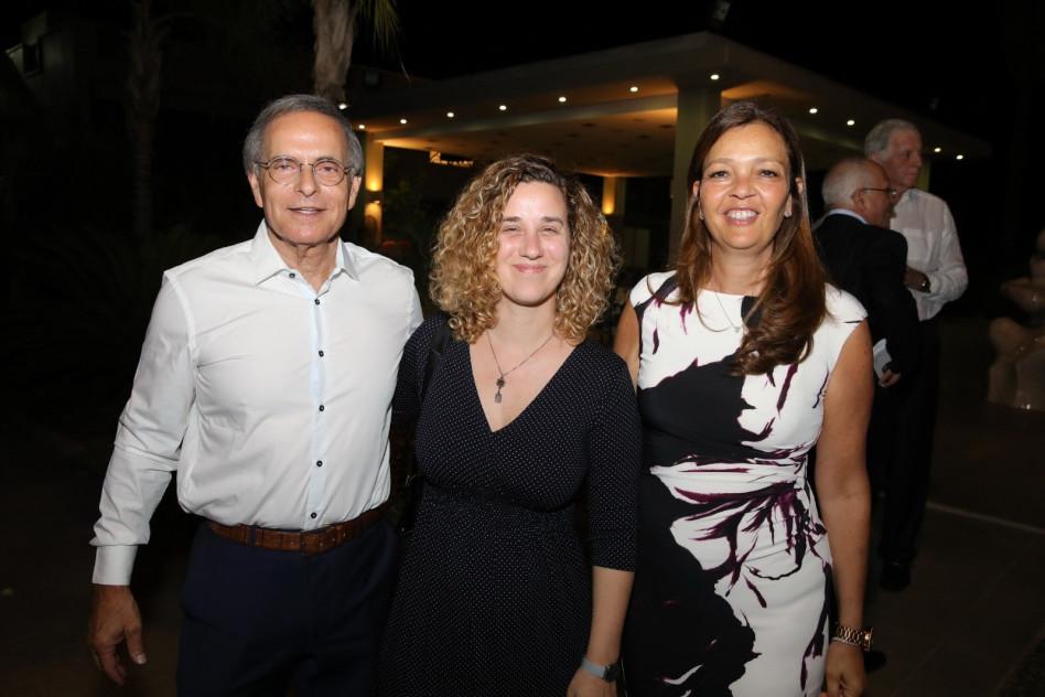 ציפי לנדאו, אילה ארד ואמנון דיק (צילום: איציק בירן)