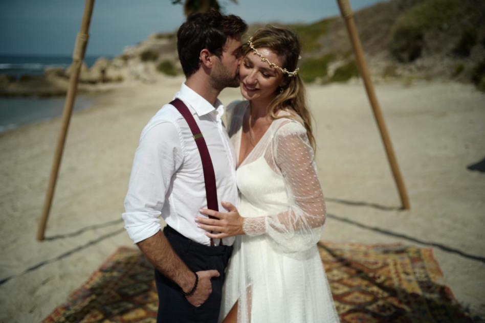 חתונת מיכל אנסקי ואייל אמיר (צילום: fine production,שי אשכנזי)