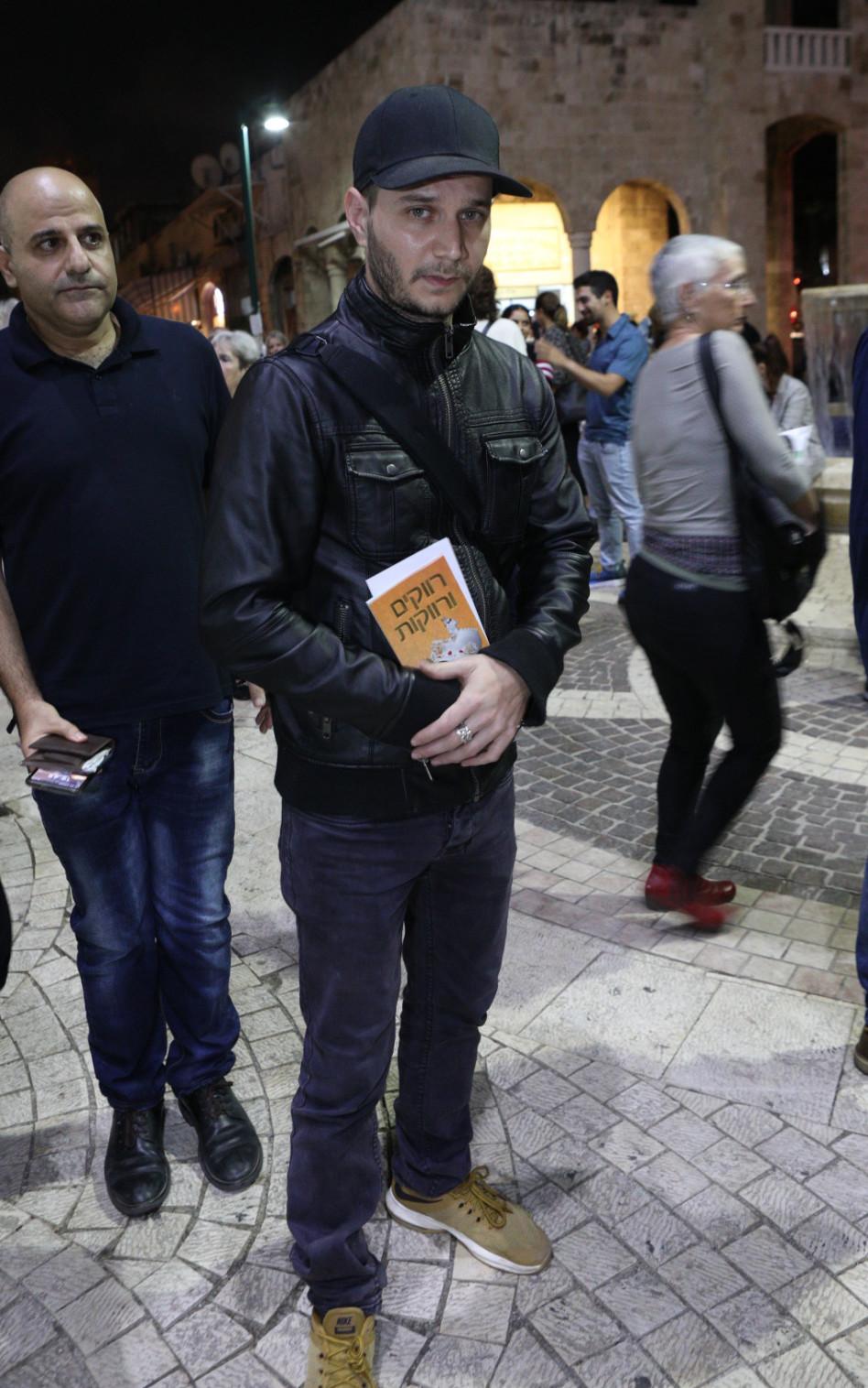 מיכאל מושונוב (צילום: אסף לב)