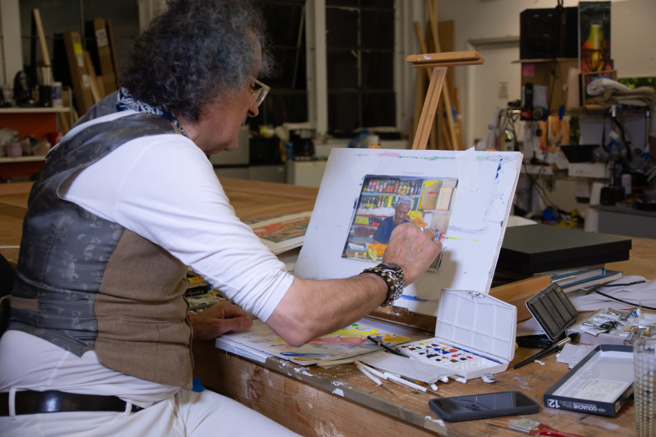 יגאל עוזרי (צילום: גלרייה זימאק)