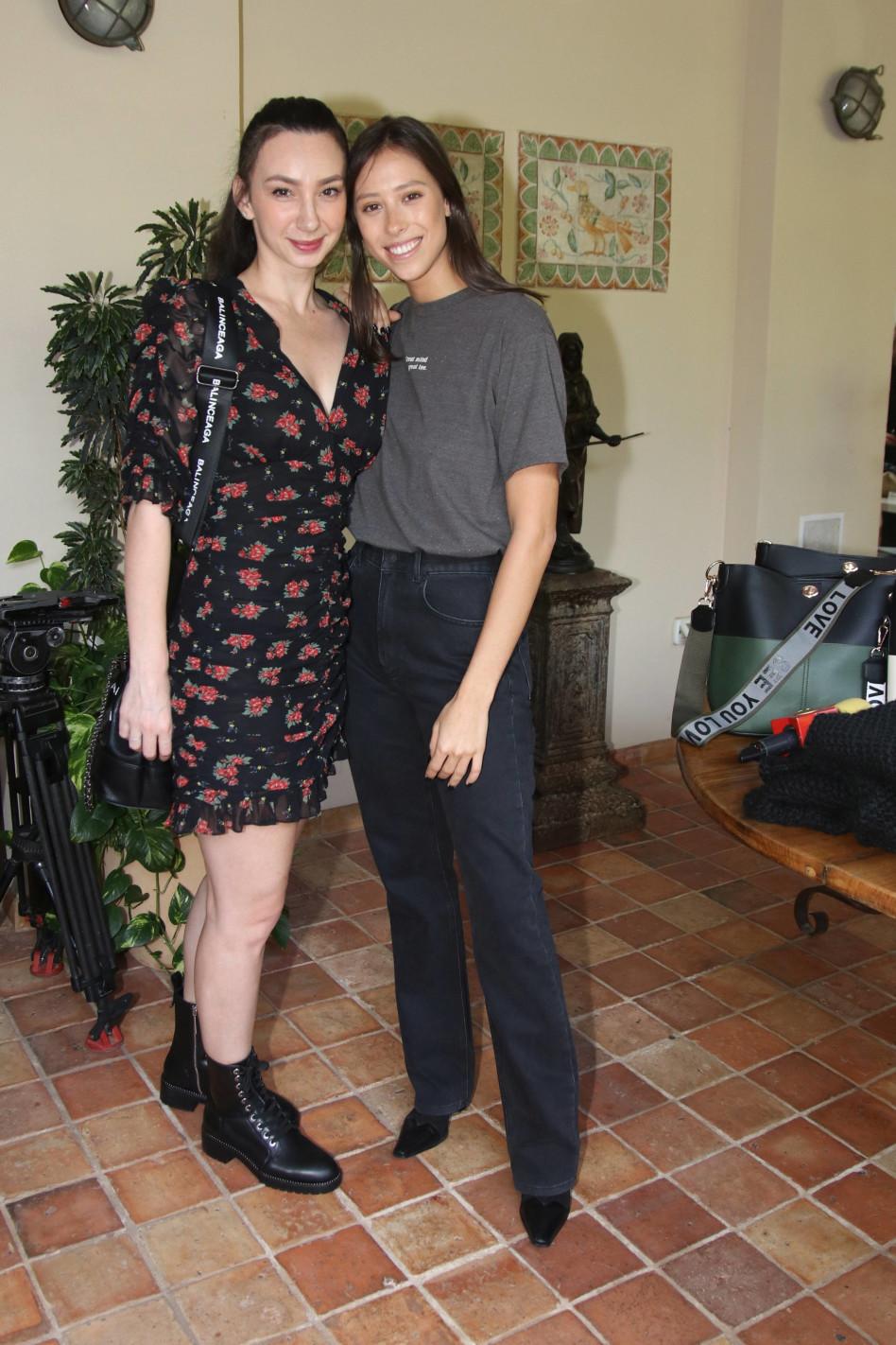 ג'ולייטה ורומי ספקטור (צילום: אור גפן)