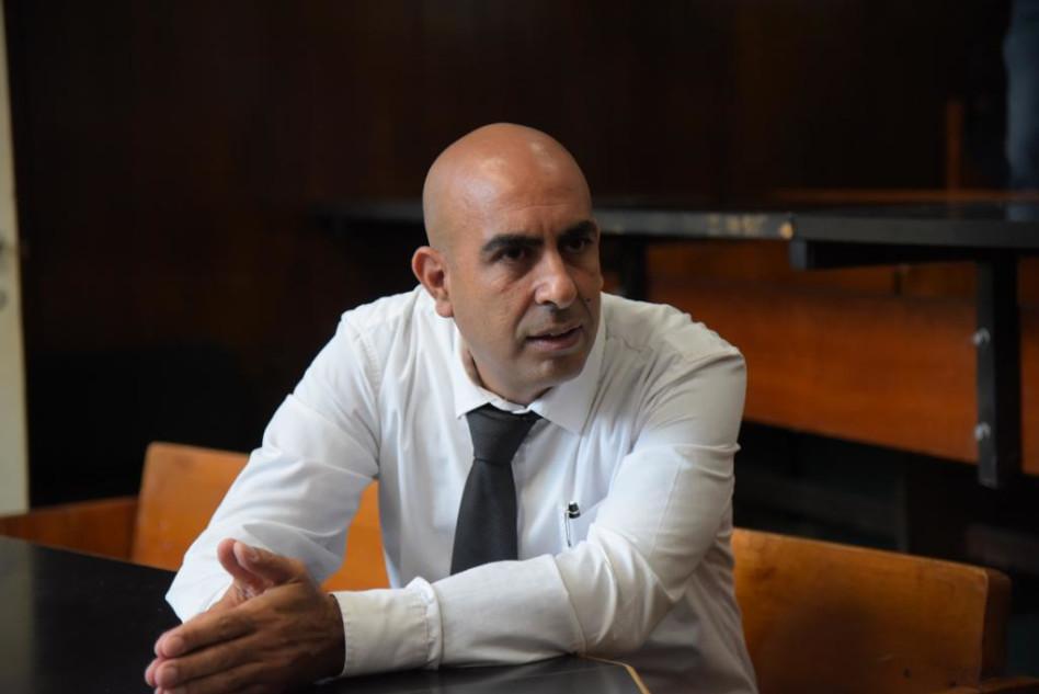 ברק כהן בבית המשפט (צילום: אבשלום ששוני)