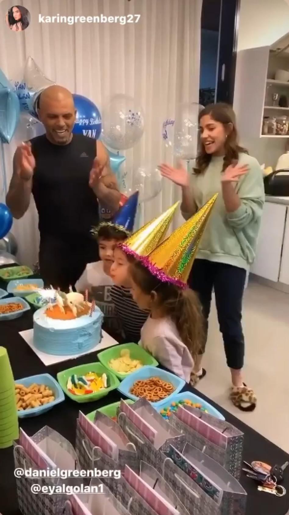 חוגגים ליאן יום הולדת 5 (צילום: אינסטגרם)