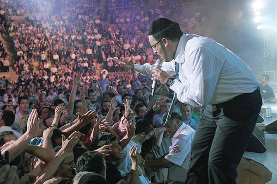 יעקב שוואקי בקיסריה (צילום: ישראל ברדוגו)