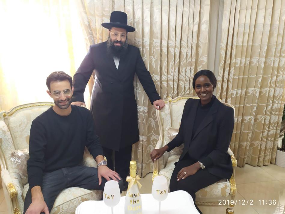 עם הרב שריקי (צילום: איציק אוחנה)