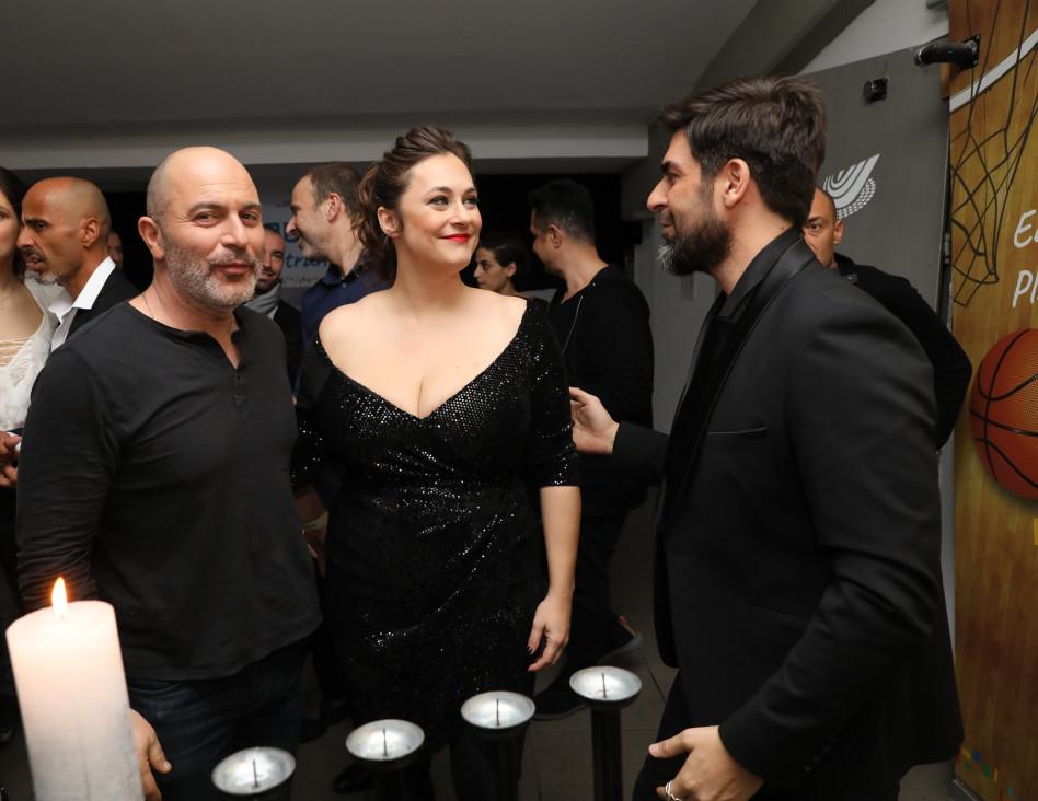 רותם כהן, קרן פלס וליאור רז (צילום: רפי דלויה)