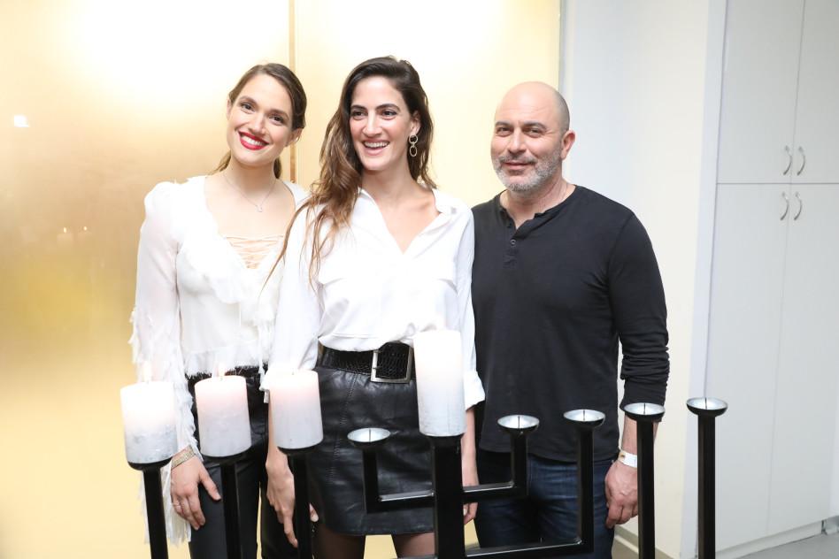 ליאור רז, רונה לי שמעון ומארינה מקסימיליאן (צילום: רפי דלויה)
