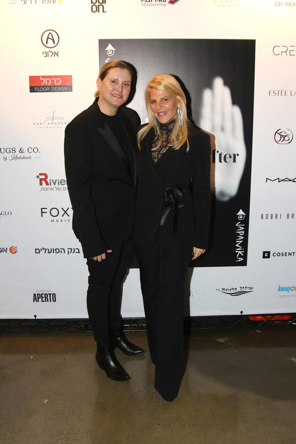 ציפי רומנו וסנדרה רינגלר (צילום: אור גפן)