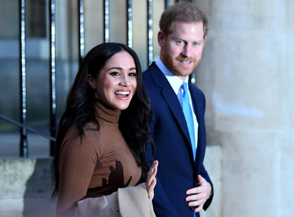 הנסיך הארי ומייגן מרקל (צילום: רויטרס)