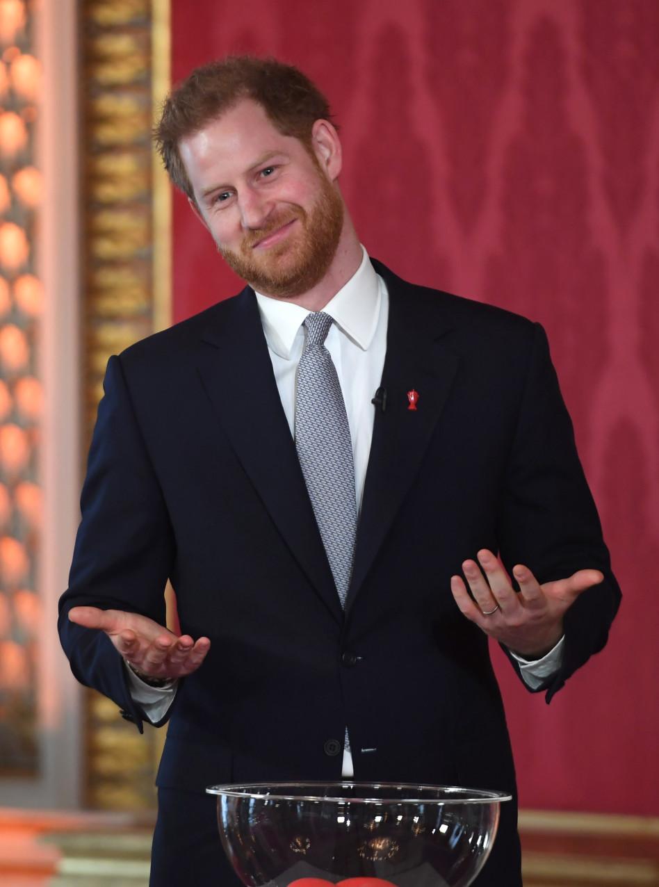 הנסיך הארי (צילום: WPA Pool/Getty images)