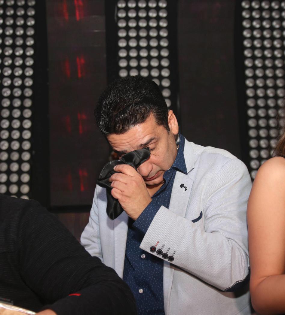 דורון מירן מתרגש (צילום: אור גפן)