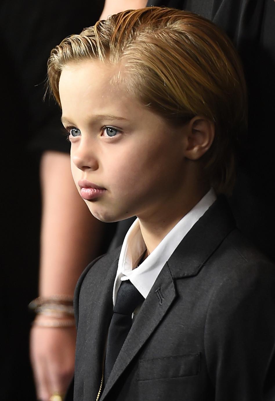 שיילו ג'ולי פיט (צילום:  ROBYN BECK  Getty Images)