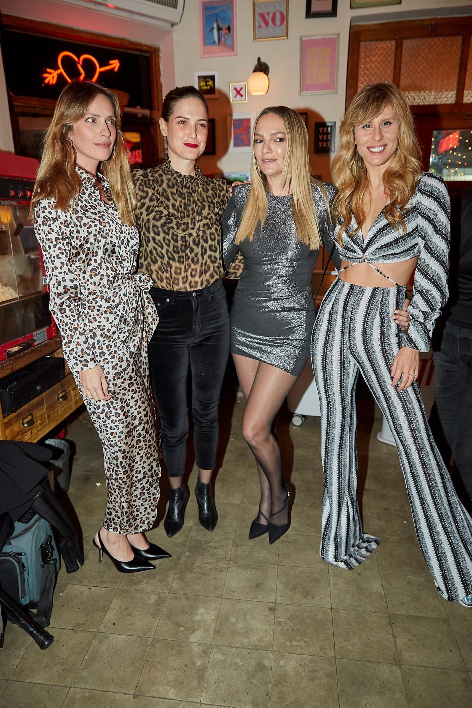 אלינה כהן, קרן ברטוב, סיון קליין, מלי לוי (צילום: שוקה כהן)