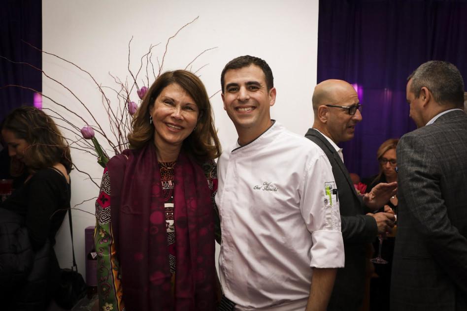 אוראל קמחי ואסתי אקרמן (צילום: יפית שמחה)