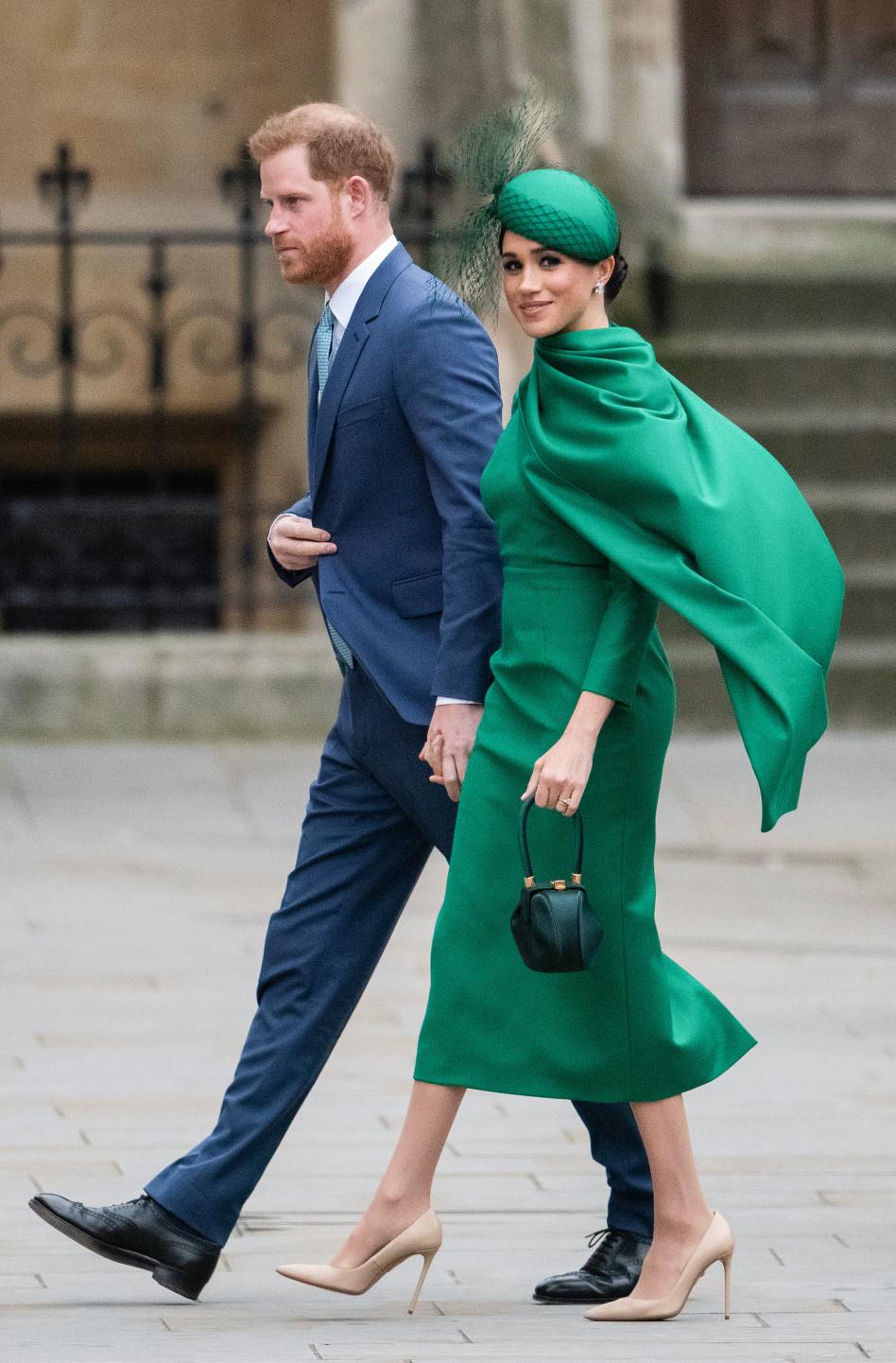 כשעוד היו רויאל'ס. הנסיך הארי ומייגן מרקל (צילום:  Gareth Cattermole  Getty Images)
