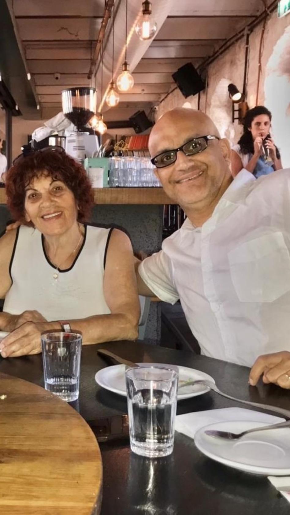 עוזי יצחקי ודוריס יצחקי (צילום: פרטי)