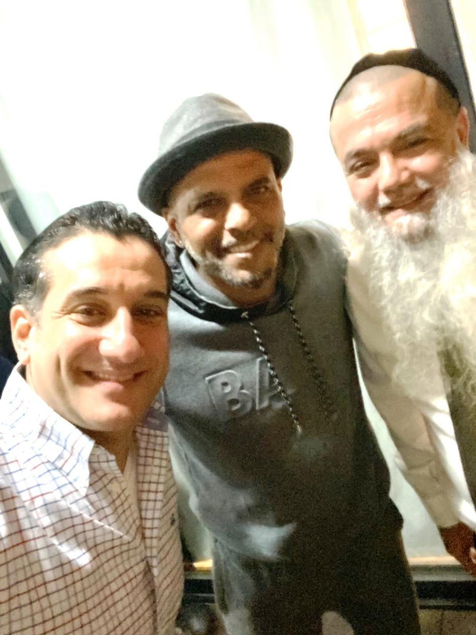 הרב יגאל כהן, אייל גולן, חיים ישראל (צילום: יח''צ)