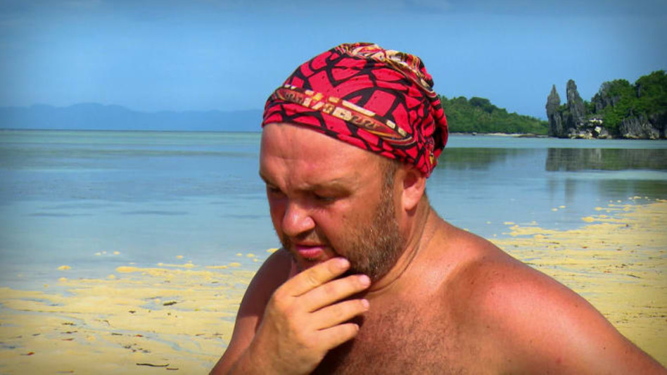 סמיון גרפמן בהישרדות (צילום: צילום מסך רשת 13)