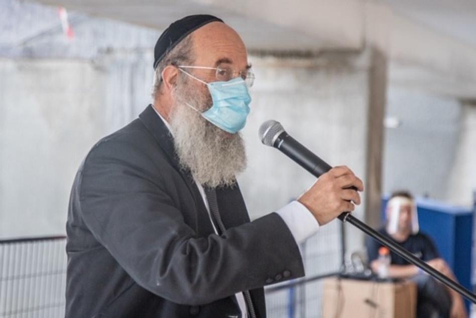 הרב אברהם רובינשטיין (צילום: איתי כהן, אלבטרוס)
