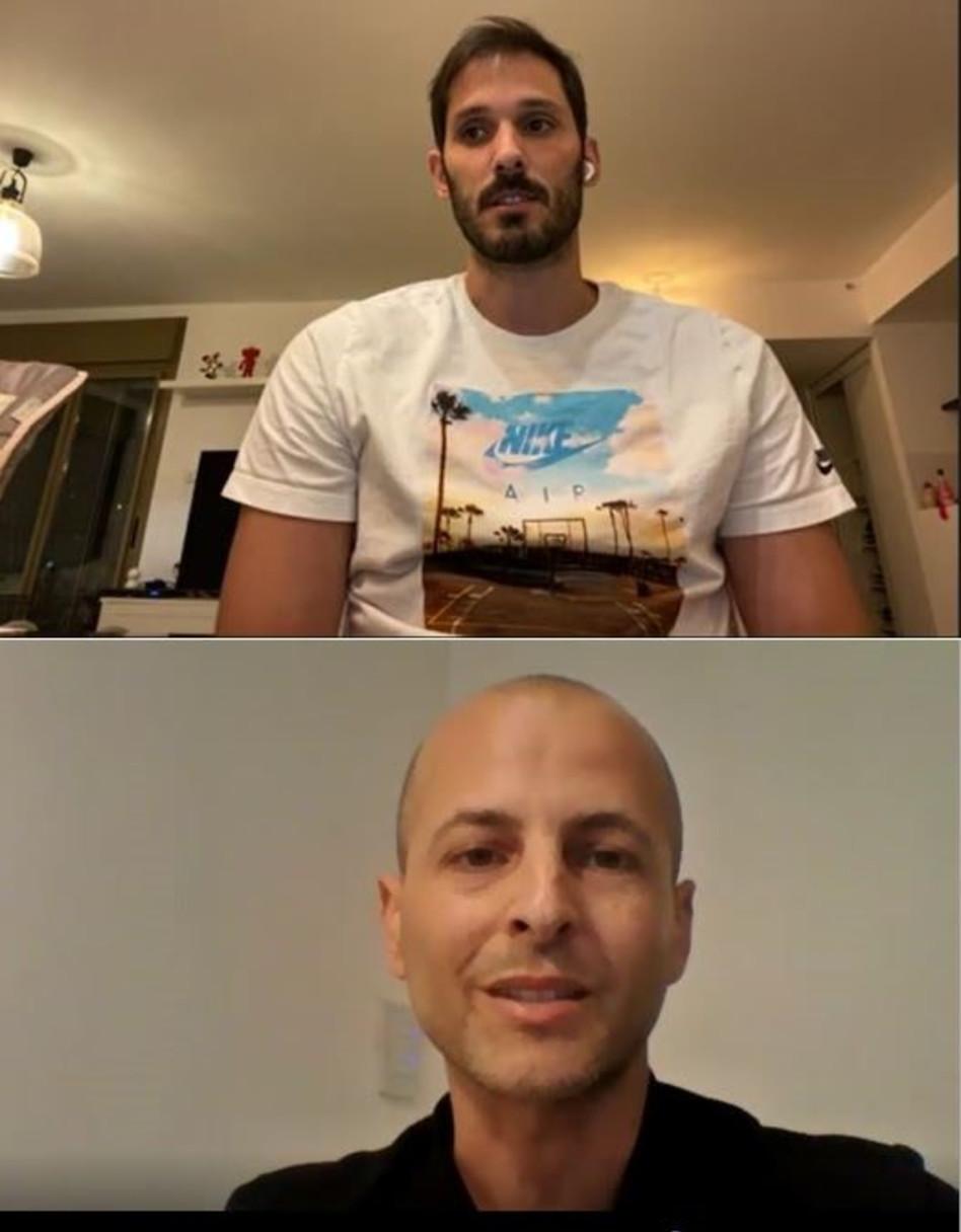 עמרי כספיואמיר אלרואי (צילום: צילום מסך)