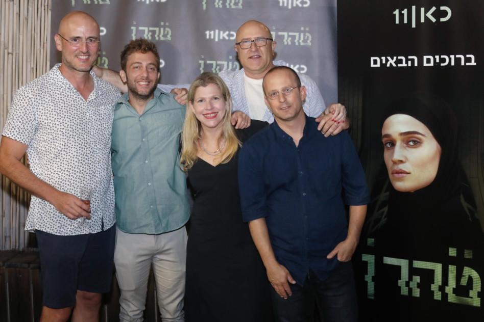 מאור כהן, משה זונדר, דנה עדן, עמרי שנהר, דני סירקין (צילום: אבישג שאר ישוב)